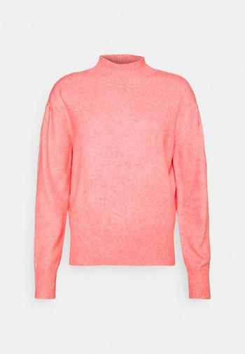 CLOUD PLEAT FUNEL - Jumper - bubblegum pink