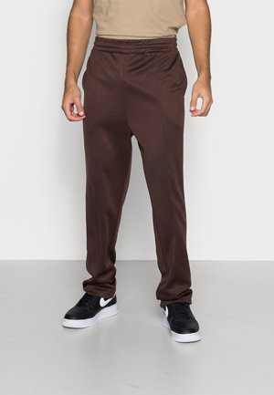 JJIBILL JJPETE - Tracksuit bottoms - seal brown