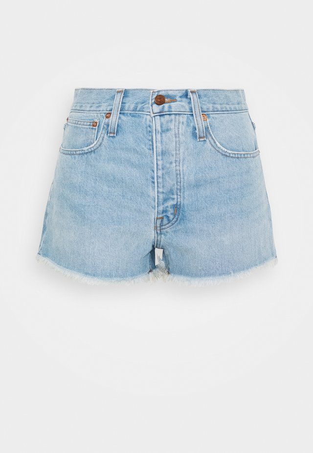 RIGID BOY SHORT  - Shorts vaqueros - light-blue denim