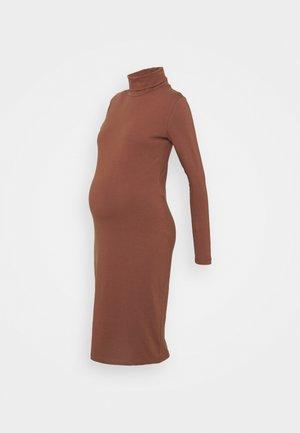 MLSIA  - Jersey dress - nutmeg