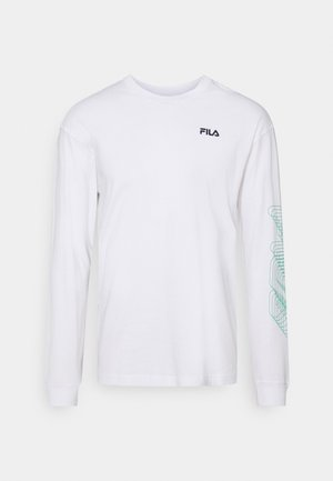 ALVARO LONG SLEEVE TEE - Longsleeve - bright white