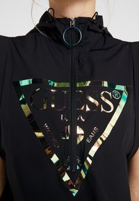 Guess - HOODED ONE PIECE - Gym suit - jet black/frost - 4