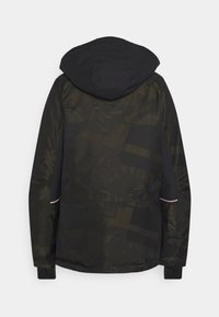 Superdry - FREESTYLE RESCUE OVERHEAD - Skijacke - dark green - 1