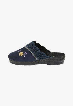 Slippers - dunkelblau