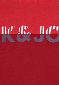 Jack & Jones Junior - Print T-shirt - bittersweet - 7