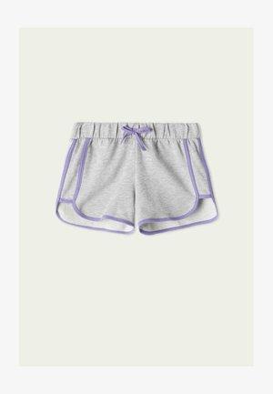 Shorts - grigio mel.chiaro/new lilla