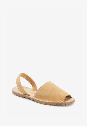 Sandały - camel