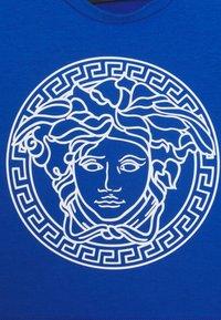 Versace - MAGLIETTA MANICA LUNGA UNISEX - Top sdlouhým rukávem - blue/bianco - 2
