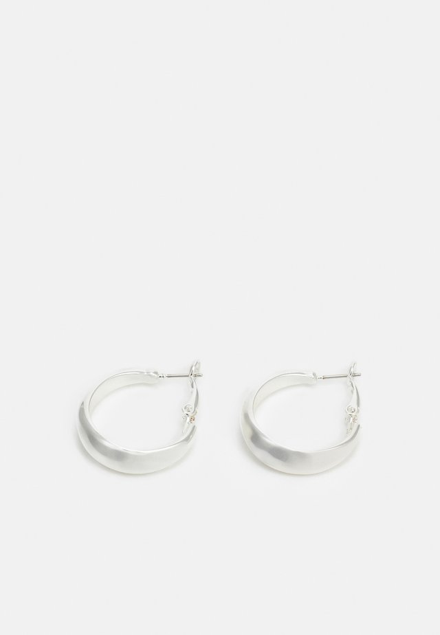 HYDE OVAL EAR  - Øredobber - silver-coloured