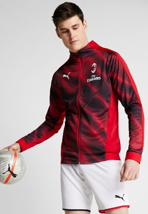 AC MAILAND STADIUM JACKET - Club wear - tango red/black
