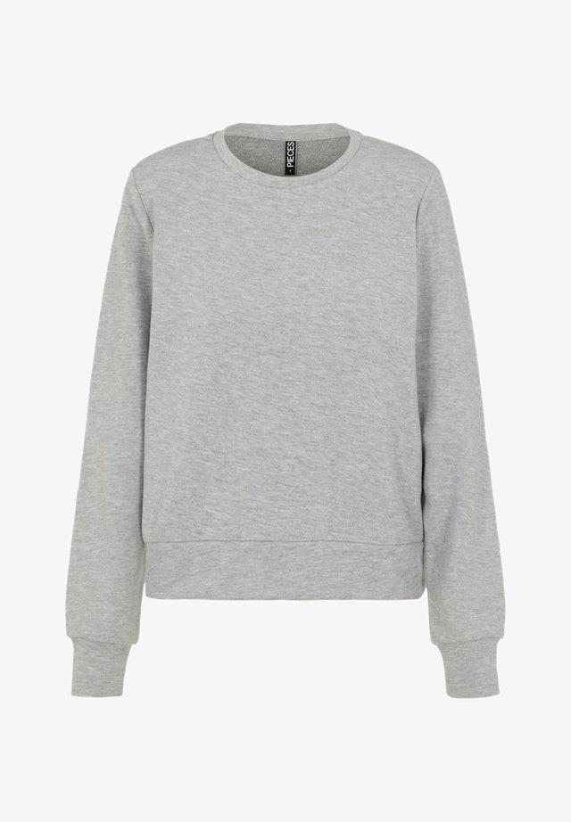 Bluza - light grey melange