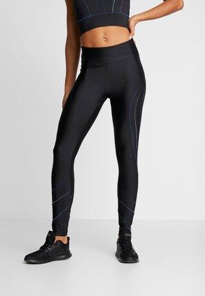 LEGGING FLATLOCKS STUDIO - Leggings - black