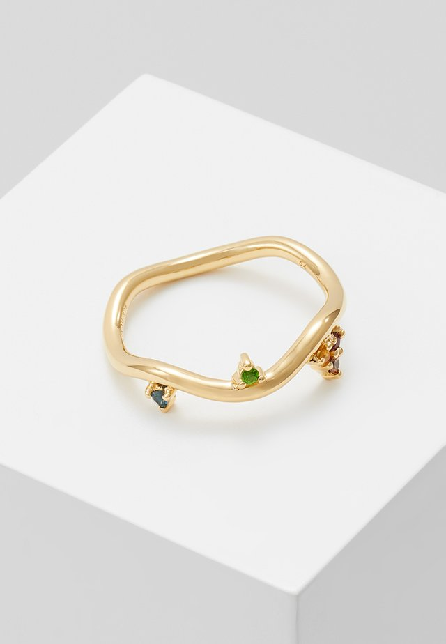BARKER RAINBOW RING - Ring - gold-coloured