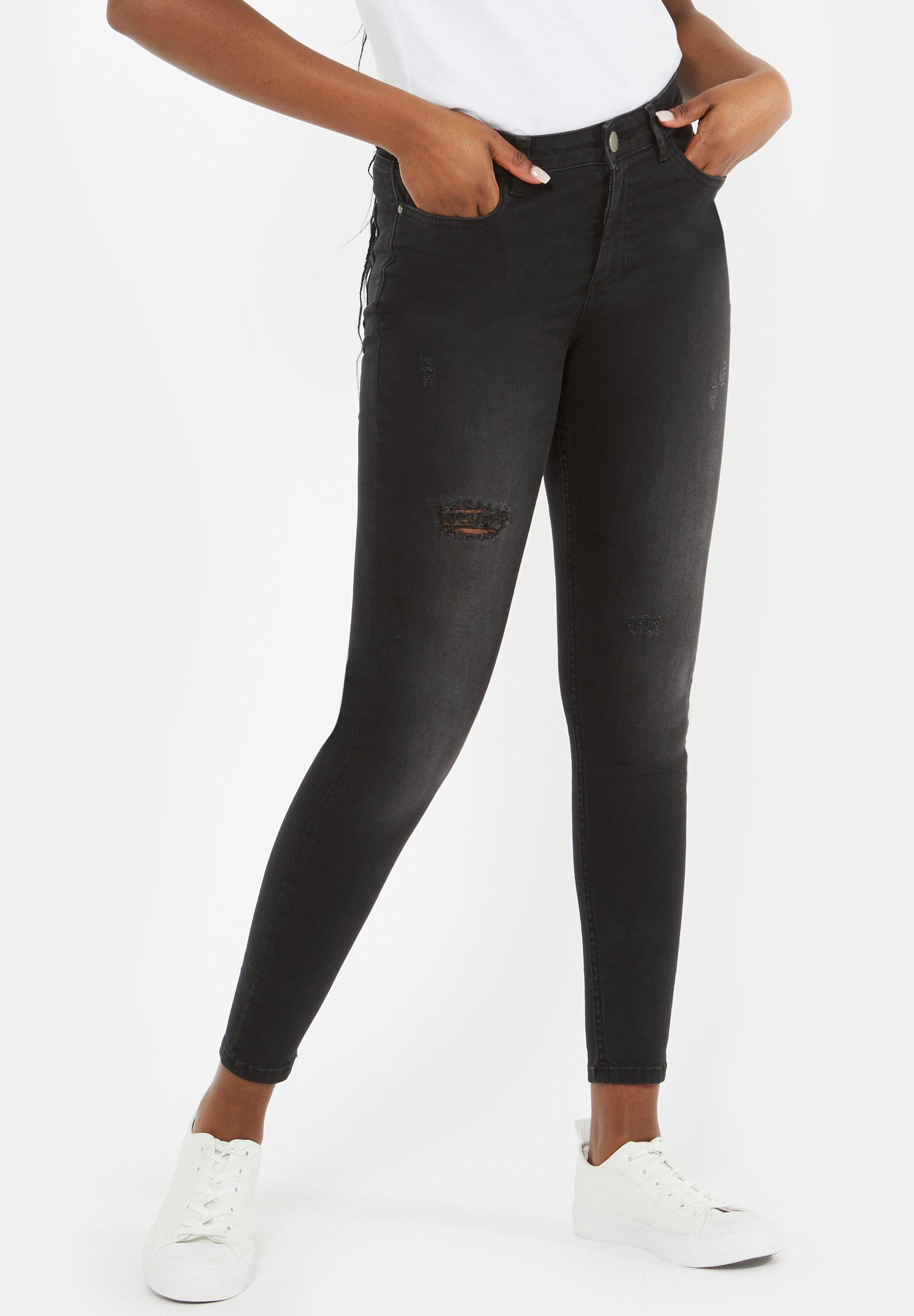 Donna MULTIPLE RIP - Jeans Skinny Fit