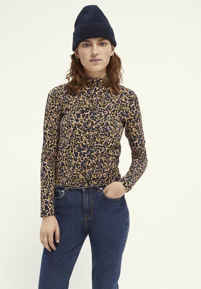 PINTED WITH HIGH NECK - Långärmad tröja - Multi coloured