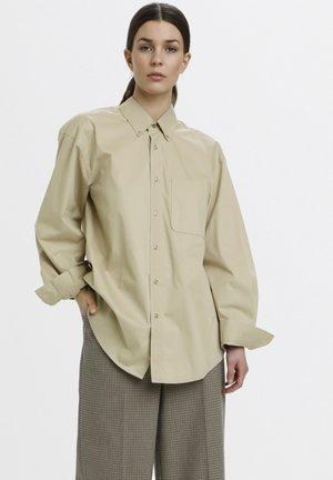 Button-down blouse - pure cashmere