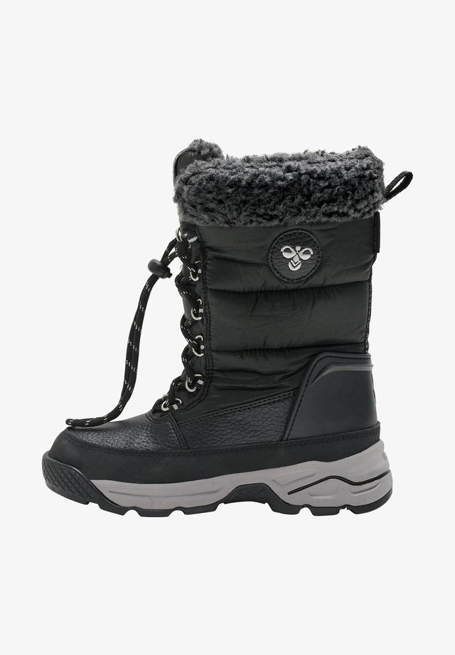 SNOW HIGH JR - Śniegowce - black