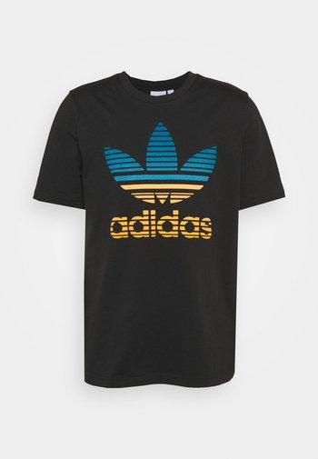 TREF OMBRE UNISEX - T-shirts print - black