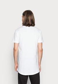 Urban Classics - 2 PACK - T-shirt - bas - white - 2