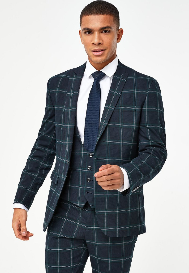 Next - TAILORED FIT  - Suit jacket - green