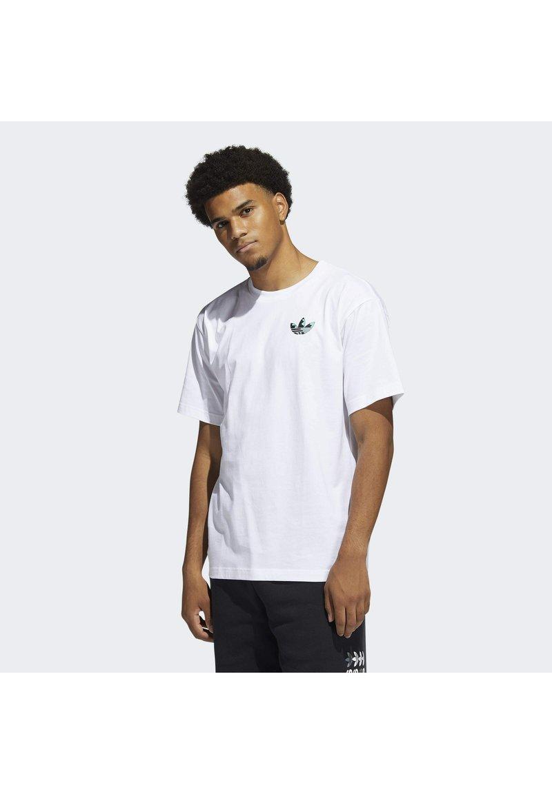 adidas Originals - STILL LIFE SUMMER SHORT SLEEVE T-SHIRT - Print T-shirt - white