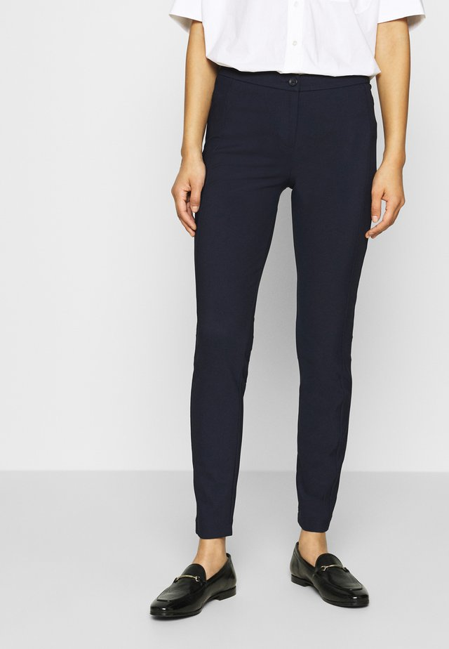 TROUSERS - Leggings - navy