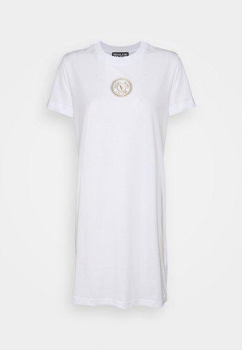 DRESS - Jersey dress - white