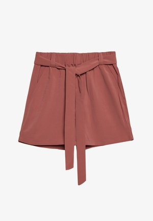 JUANITA GILROY - Shorts - dusty cedar