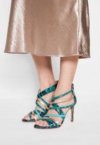 San Marina - NITORA MUSA - High heeled sandals - lagon - 0