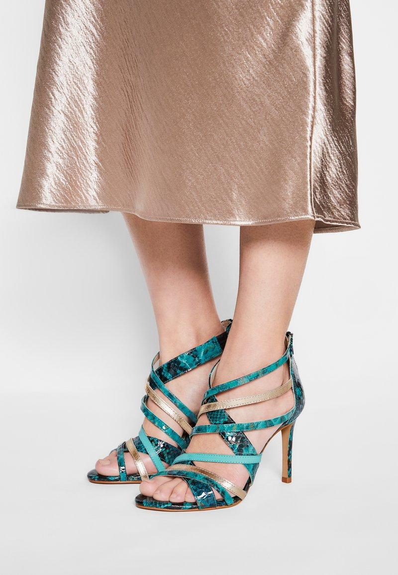 San Marina - NITORA MUSA - High heeled sandals - lagon