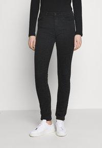 Esprit - Jeansy Slim Fit - black dark wash - 0