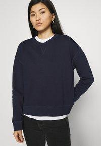Marc O'Polo DENIM - LONGSLEEVE CREWNECK - Sweatshirt - scandinavian blue - 3
