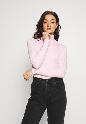 VERENA TURTLENECK - Camiseta de manga larga - bubblegum pink