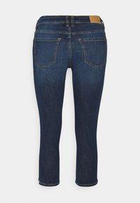edc by Esprit - CAPRI - Denim shorts - blue dark wash - 1