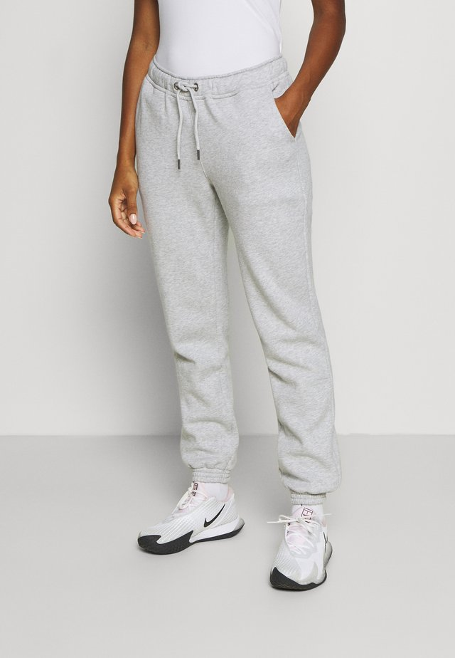 MEGHAN PANTS - Tracksuit bottoms - light grey melange