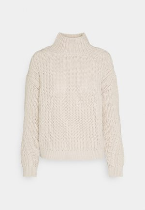LONGSLEEVE TURTLE NECK - Jumper - raw