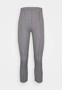 Miss Selfridge Petite - CHECK PONTE TROUSER - Trousers - mono - 3