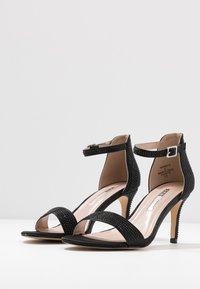 Dorothy Perkins - BESSIE HEATSEAL 2 PART  - Sandals - black - 4