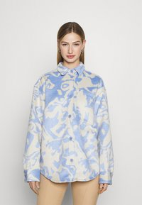 Monki - Košile - blue/white - 0