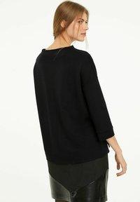 comma - Sweatshirt - black - 2