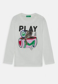 Benetton - Long sleeved top - white - 0