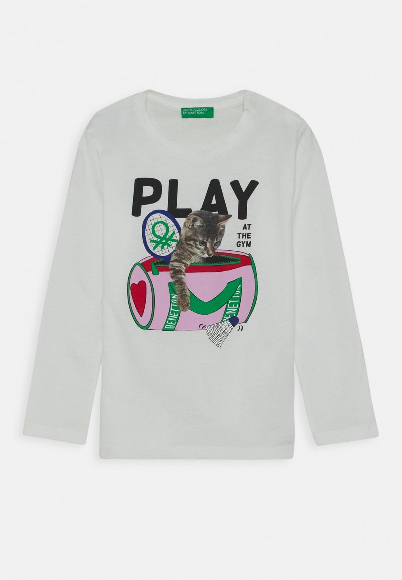 Benetton - Longsleeve - white