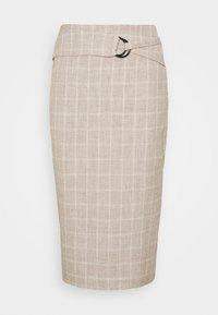 AGNES SKIRT - Spódnica ołówkowa  - beige