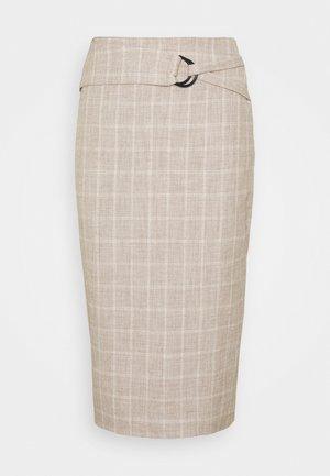 AGNES SKIRT - Falda de tubo - beige