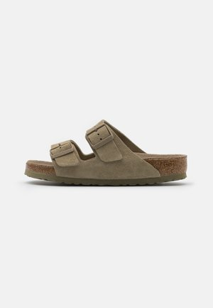 ARIZONA SOFT FOOTBED UNISEX - Slippers - faded khaki
