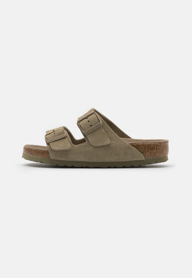 ARIZONA SOFT FOOTBED UNISEX - Tøfler - faded khaki