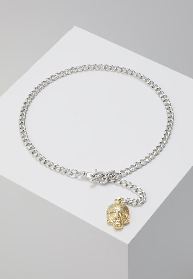 Twisted Tailor - ALBERT CHAIN - Klíčenka - rhodium-coloured/gold-coloured