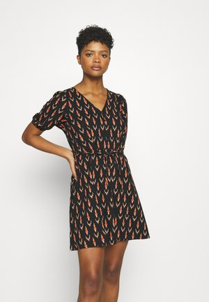 ONLSPELL SHORT DRESS - Day dress - black