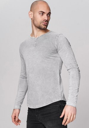 ASHTON - Long sleeved top - 5203-darkgrey