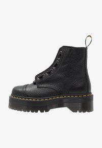 SINCLAIR - Platform ankle boots - black/aunt sally
